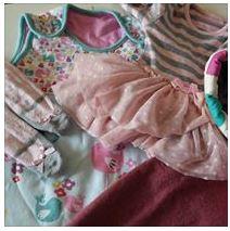 1st birthday keepsake clothing ♥