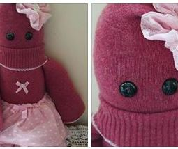 A ballerina Critter made from selection of Baby Zena's 1st year keepsake clothes for her 1st Birthday ♥ © Peerie Critters 2013 Thank you Freya - she's gorgeous! Love it, love it And she looks like Zena when she was wearing her peerie outfit! ~ Katrina