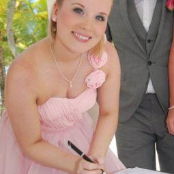 Keepsake bridesmaid dress turned into a Peerie Critter ♥